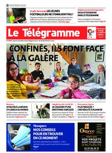 Le Télégramme Auray – 27 avril 2020