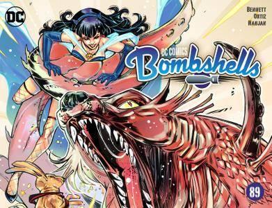 DC Comics - Bombshells 089 2017 Digital BlackManta-Empire