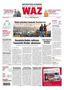 WAZ Westdeutsche Allgemeine Zeitung Oberhausen-Sterkrade - 07. März 2019