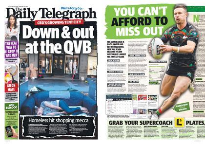 The Daily Telegraph (Sydney) – January 23, 2019