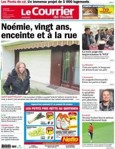 Le Courrier de l'Ouest Angers - 27 Octobre 2017