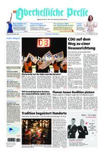 Oberhessische Presse Marburg/Ostkreis - 10. Dezember 2018
