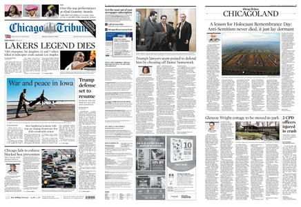 Chicago Tribune – January 27, 2020