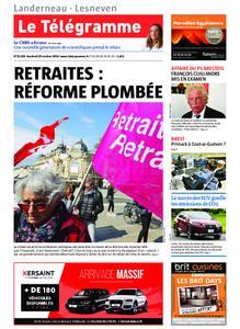 Le Télégramme Landerneau - Lesneven – 18 octobre 2019