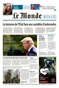 Le Monde du Samedi 20 Avril 2019
