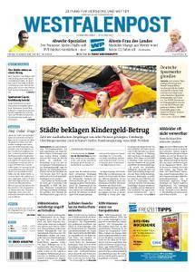 Westfalenpost Wetter - 10. August 2018