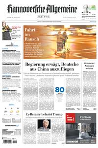 Hannoversche Allgemeine Zeitung – 28 Januar 2020