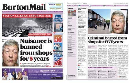 Burton Mail – January 10, 2018