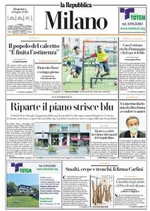la Repubblica Milano - 12 Luglio 2020