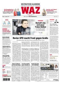 WAZ Westdeutsche Allgemeine Zeitung Oberhausen-Sterkrade - 01. Dezember 2017