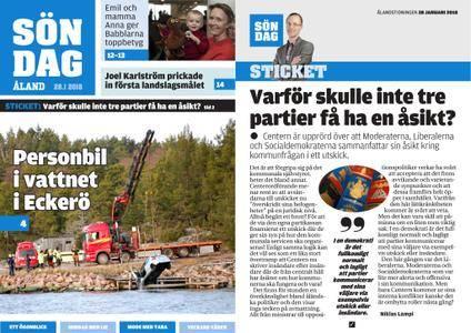 Ålandstidningen – 28 januari 2018