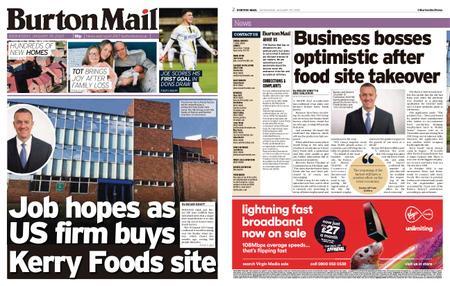 Burton Mail – January 29, 2020