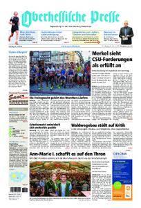Oberhessische Presse Marburg/Ostkreis - 30. Juni 2018