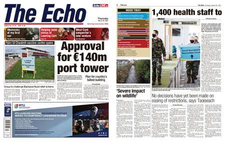 Evening Echo – March 25, 2021