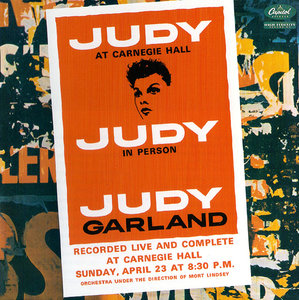 Judy Garland - Judy At Carnegie Hall: 40th Anniversary Edition (2001) 2CD [Re-Up]