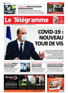 Le Télégramme Brest – 16 octobre 2020