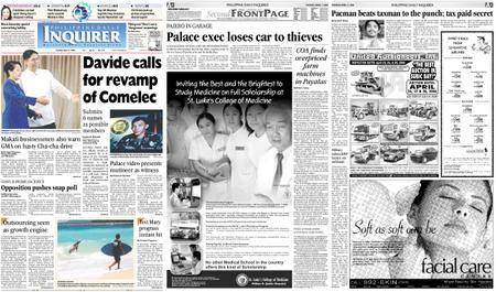 Philippine Daily Inquirer – April 11, 2006