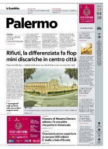 la Repubblica Palermo - 24 Aprile 2018