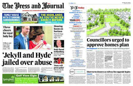The Press and Journal Moray – April 24, 2018