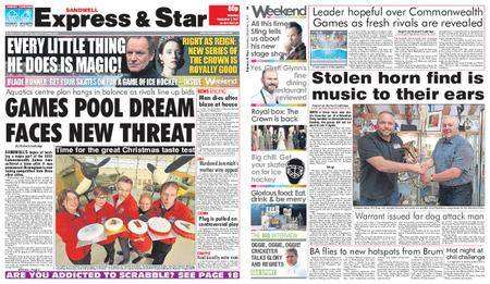 Express and Star Sandwell Edition – December 02, 2017