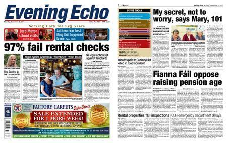 Evening Echo – September 14, 2017