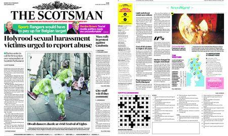 The Scotsman – October 30, 2017