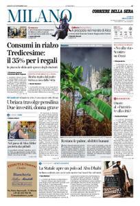 Corriere della Sera Milano – 30 novembre 2019
