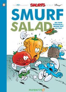 Papercutz-Smurfs Vol 26 Smurf Salad 2020 Hybrid Comic eBook