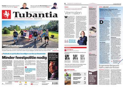 Tubantia - Enschede – 08 oktober 2018
