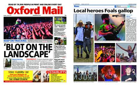 Oxford Mail – July 29, 2019