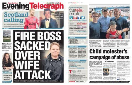 Evening Telegraph First Edition – October 11, 2017