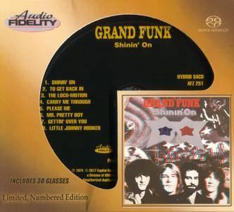 Grand Funk - Shinin' On (1974) [Audio Fidelity 2017] PS3 ISO + Hi-Res FLAC