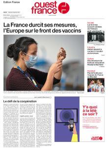 Ouest-France Édition France – 30 janvier 2021