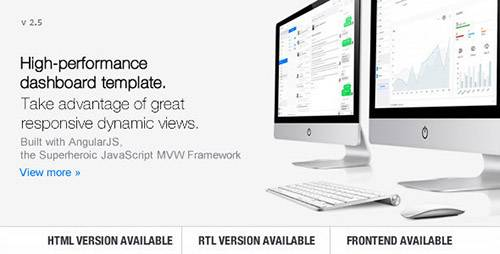 ThemeForest - Clip-Two v2.5 - Bootstrap Admin Template with AngularJS - 10290688