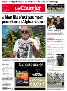 Le Courrier de l'Ouest Angers – 31 août 2021