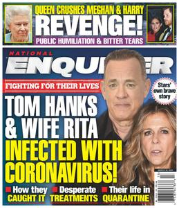 National Enquirer – March 30, 2020