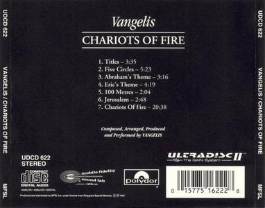 Vangelis - Chariots of Fire - MFSL