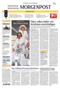 Solinger Morgenpost – 30. Januar 2019
