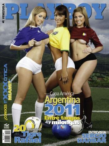 Playboy Venezuela - Julio 2011