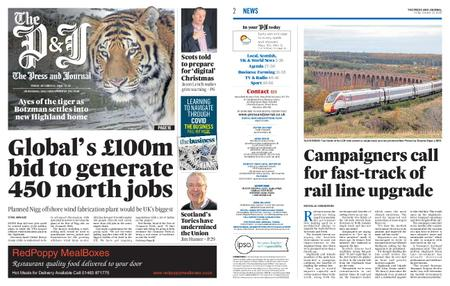 The Press and Journal Moray – October 23, 2020
