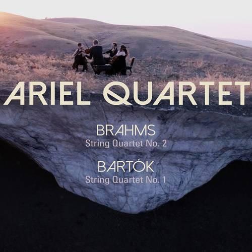Ariel Quartet - Brahms: String Quartet No. 2 - Bartók: String Quartet No. 1 (2018)