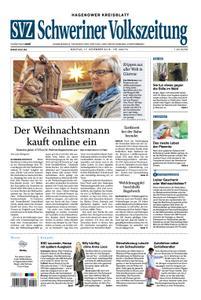 Schweriner Volkszeitung Hagenower Kreisblatt - 17. Dezember 2018