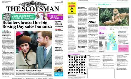 The Scotsman – December 26, 2017