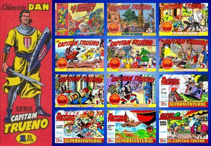 El Capitán Trueno (Cuadernillos Originales) #1-52