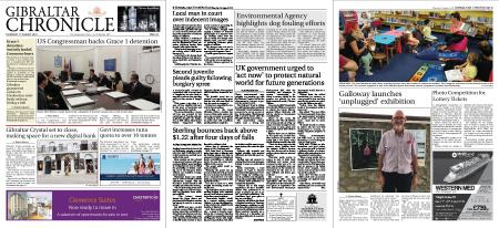Gibraltar Chronicle – 01 August 2019