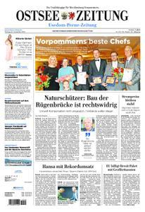 Ostsee Zeitung Wolgast - 26. November 2018