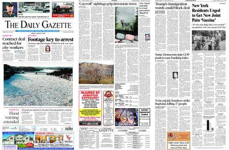 The Daily Gazette – January 16, 2018