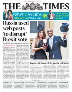 The Times - 15 November 2017