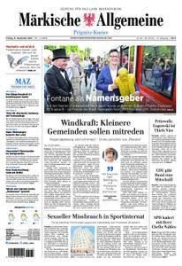 Märkische Allgemeine Prignitz Kurier - 21. September 2018