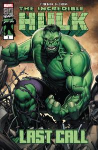 Incredible Hulk-Last Call 01 2019 Digital F Zone